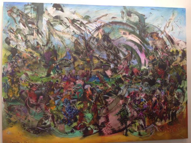 Ali Banisadr @ Sperone Westwater Gallery