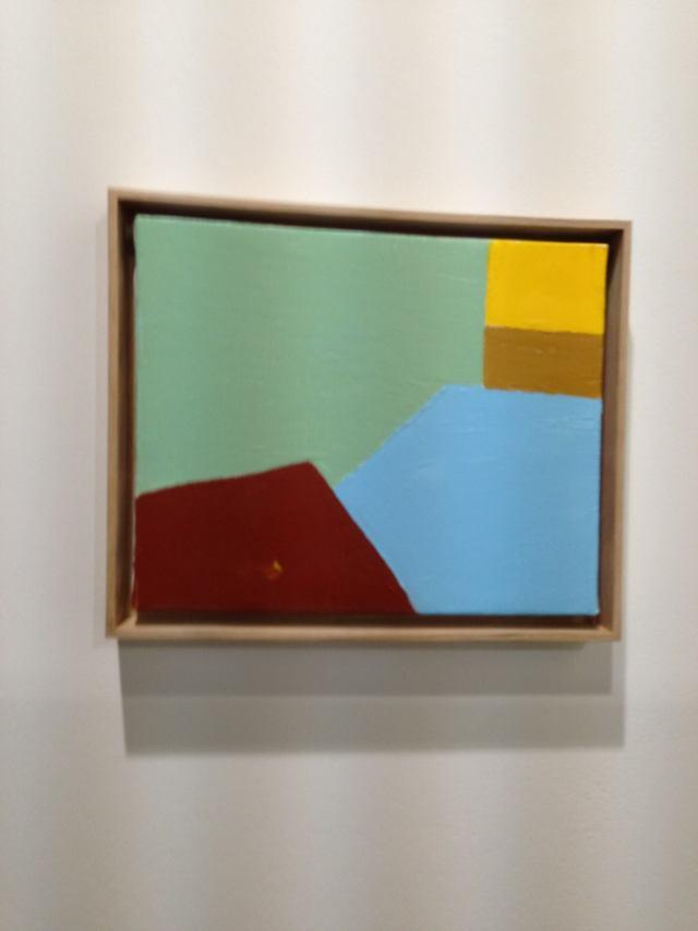 Etel Adnan work @ Galerie Sfeir Semler's booth