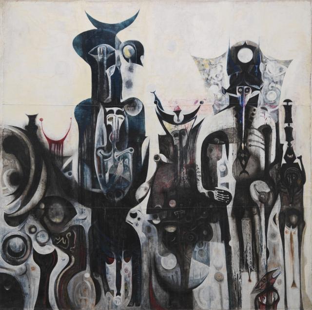 Reborn Sounds of Childhood Dreams 1962-1963 © Ibrahim El-Salahi