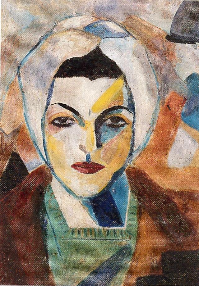 Self Portrait 1943 © Saloua Raouda Choucair Foundation