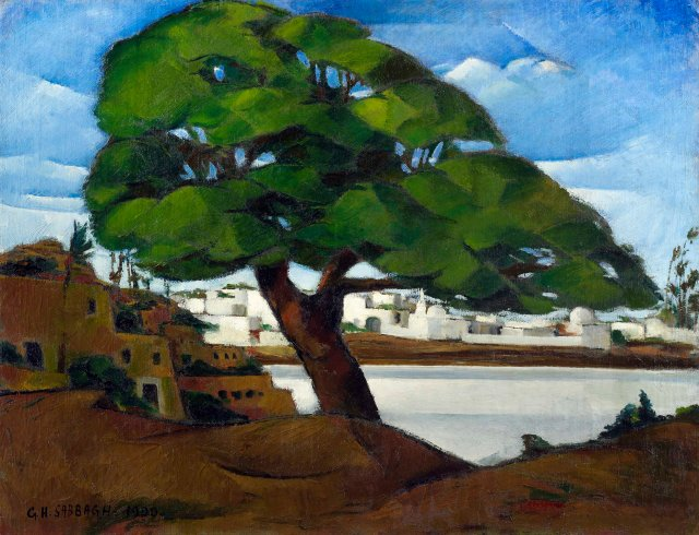 Georges Sabbagh - Le Vieux Sycamore