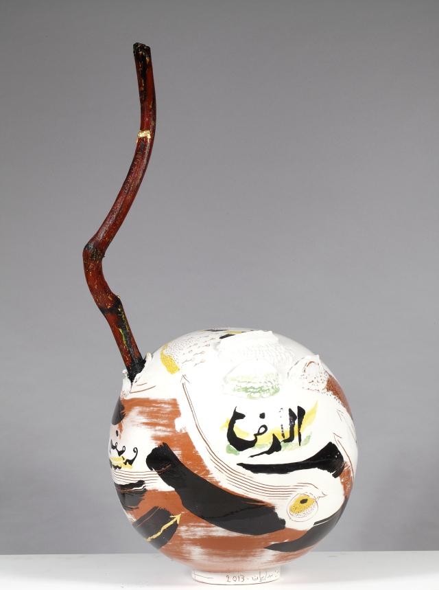 Khaled Ben Slimane 2013 Ceramics 85x40 cm