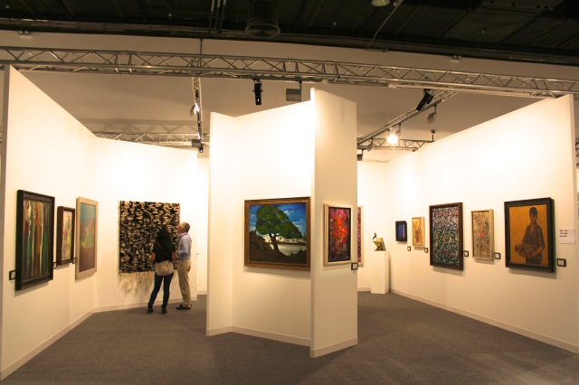 The Park Gallery booth Abu Dhabi Art 2013